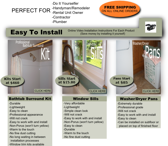 Window Trim Kit | Duraflex Products